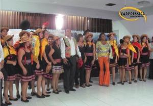 Trabajadores de EsSalud Ica triunfadores en danza mix Perú