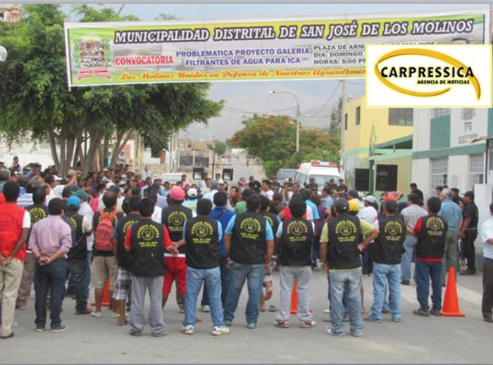 Cabildo abierto en Los Molinos. Foto: Agencia de Noticias CARPRESSICA.