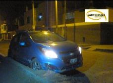 Taxista impidió el robo de su automóvil, en Ica.